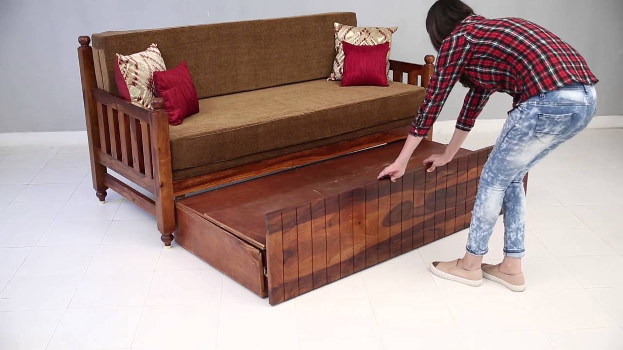 Foldable Wooden Sofa Set Puzzle Freedom Cum Bed Erika Online Street Youtube Furniture Homedesign Furnituredesign