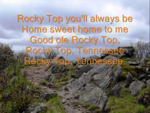 Rocky Top w/ Lyrics