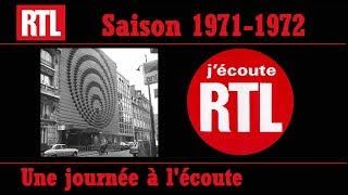 RTL EN 1971 UNE JOURNEE A L'ECOUTE DE RTL AVEC LES ANIMATEURS ET LES INDICATIFS
