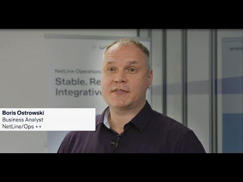 From airliner to airliner - Boris Ostrowski Business Analyst NetLine/Ops ++ / Lufthansa Systems