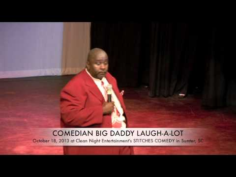 Comedian Big Daddy LaughAlot at  CNe's STITCHES Comedy
