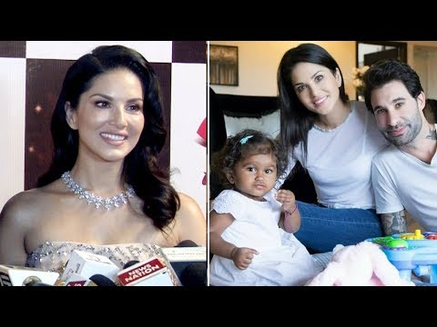 Sunny Leone's First Interview after adopting baby girl Nisha | Video