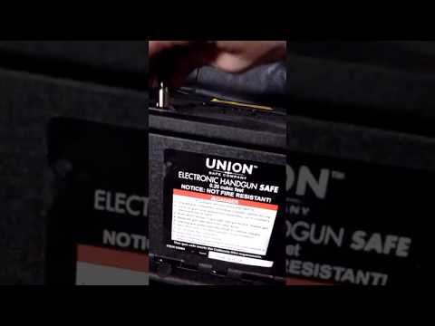 Union Pacific Electronic Gun Safe