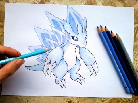 How to draw Sandslash (Alola Form) | Pokemon - YouTube