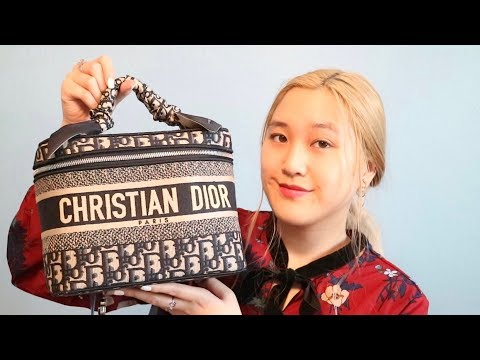 New Dior Oblique Vanity Bag // What Can Fit & Louis Vuitton