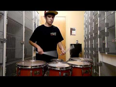 Amazing Tenor Drum Solo!!!!!