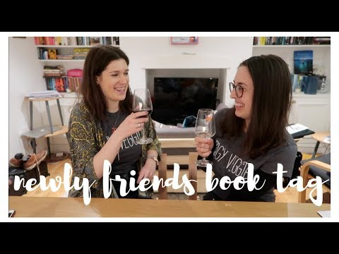 'Newbie' BFF BOOK TAG FT. DRINKING BY MY SHELF | Angelica Cofer