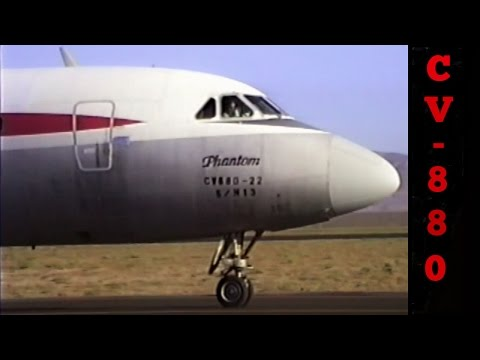 Ex-TWA CV-880 Preparation / Departure From Mojave (Corrected Format/Unedited)