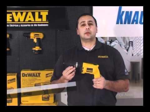 DW255 y DW268 Atornilladores Electricos DEWALT