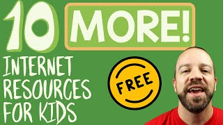 10 MORE Free Internet Resources For Kids - Learn Remotely (or From Home)! 🏫🎉💯
