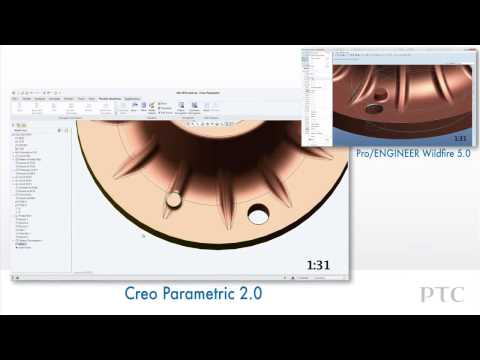 Compare Late Stage Design Changes in Creo Parametric & FMX) and Pro ENGINEER   PTC