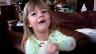 Sophia Sings Draddle Song 2007