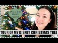 MY DISNEY CHRISTMAS TREE + a little Magic Mail ;) Vlogmas Day 7