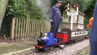 The last fun day at Pentney Park Railway. (Now closed)     May 2017
