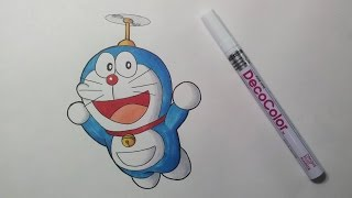 Drawing Doraemon  ドラえもん