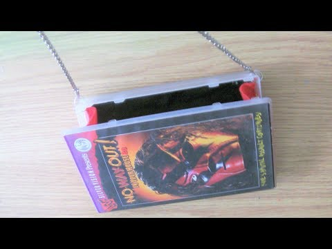 How To Make A VHS Case Bag