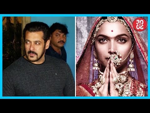 Salman Khan To Be The Chief Guest At IFFI, CBFC Returns Padmavati To Its Makers