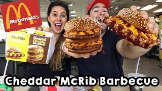 Festival de Cheddar McDonald's 🍔 McFritas Cheddar e Bacon 🍟 McRibs Barbecue 🍦 McFlurry thumbnail