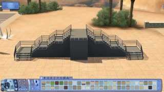 The Sims 3 Building Tricks (e.p.2) :stairs Designs Tutorial