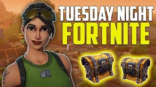Tuesday Night Fortnite Battle Royale! Victory Royale Grinding! (PS4 Pro)