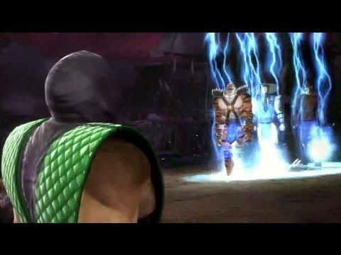 Mortal Kombat 9: Intros, Victories, Fatalities and Cut Scene Swaps *NPC Edition* Part 3