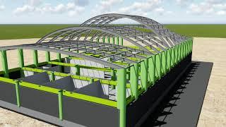 сварные арки в конструкциях зданий