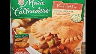 Marie Callender's: Beef Pot Pie Review
