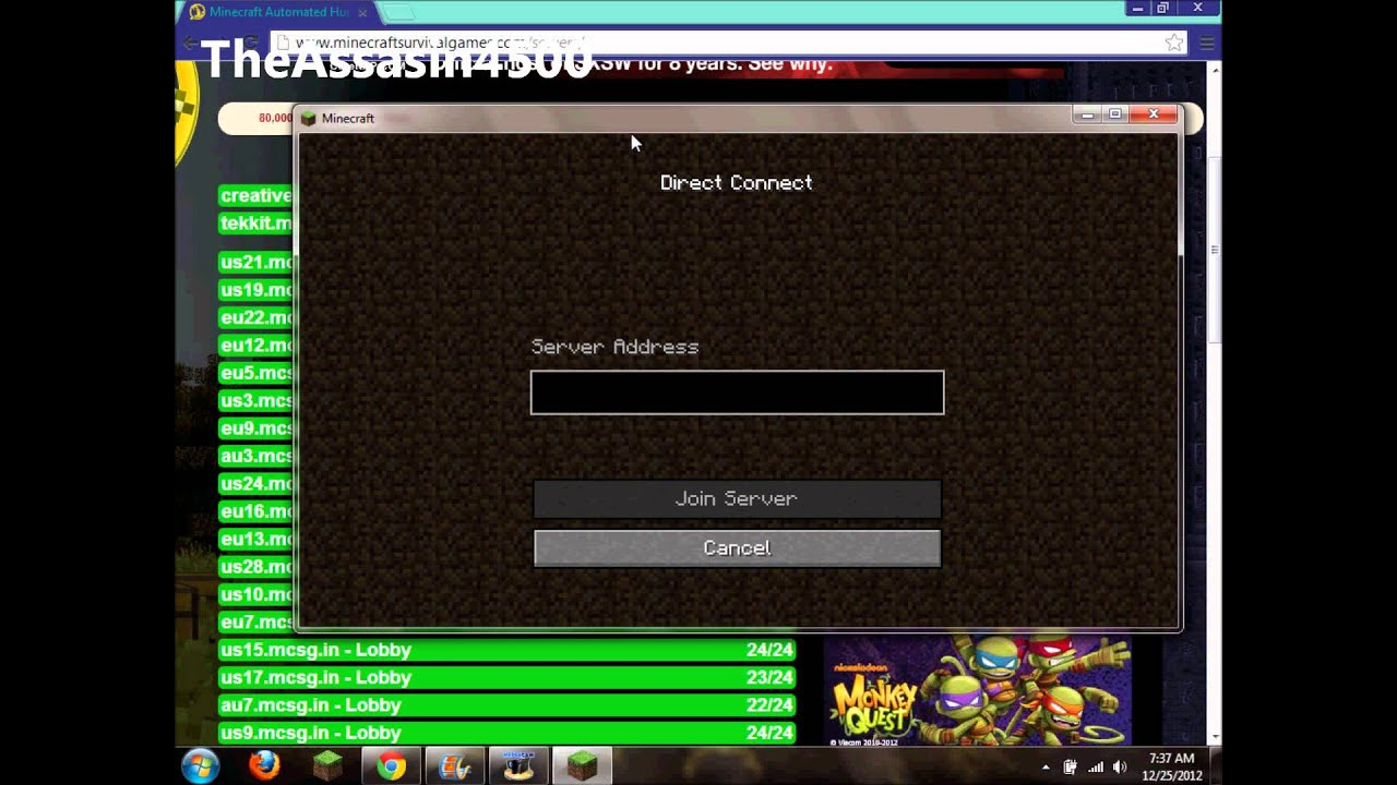 how to make a multiplayer server on minecraft pc