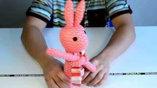 """Идеи подарков: Мягкая игрушка """"Красный заяц"""" (видео обзор)"""