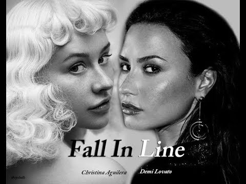 Christina Aguilera - Fall In Line ft Demi Lovato (snippet) - YouTube