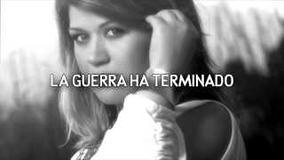 (HD) Kelly Clarkson - The War Is Over (Subtitulada al español)