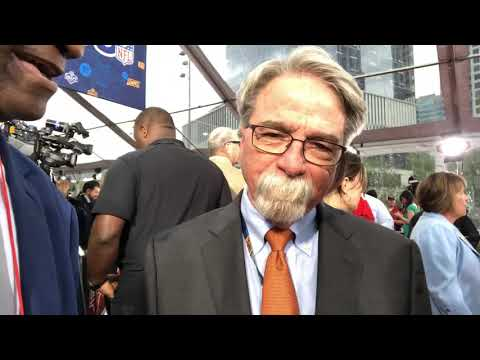 Tennessee Titans CEO Steve Underwood At 2019 NFL Draft Red Carpet