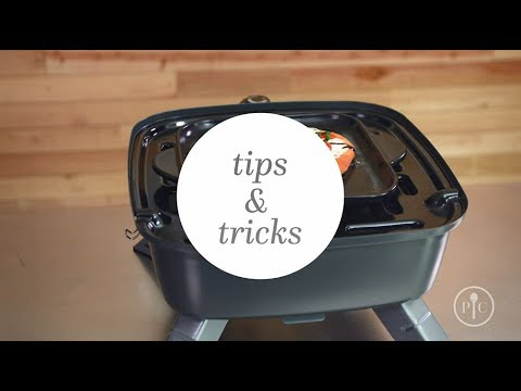 Tips Tricks: Indoor/Outdoor Portable Grill | Pampered Chef from YouTube · Duration:  1 minutes 16 seconds