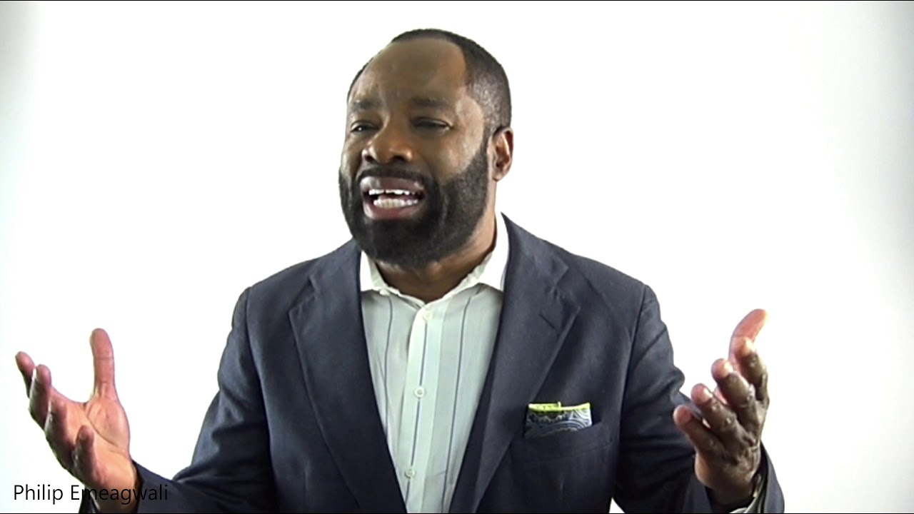 Philip Emeagwali Inventor: THE NIGERIAN/BLACK MAN WHO INVENTED THE INTERNET. WOW