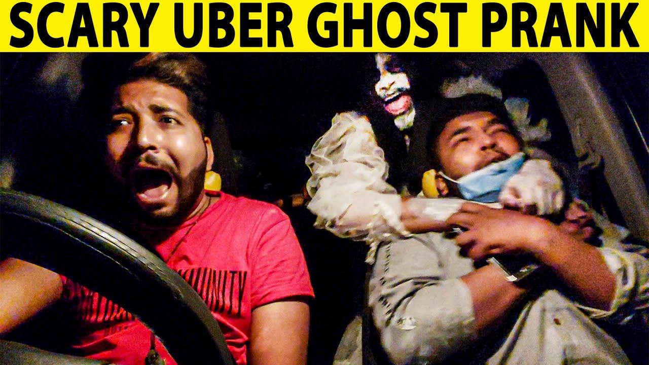 Scary Uber Ghost Prank - Part 9 - Lahori PrankStar
