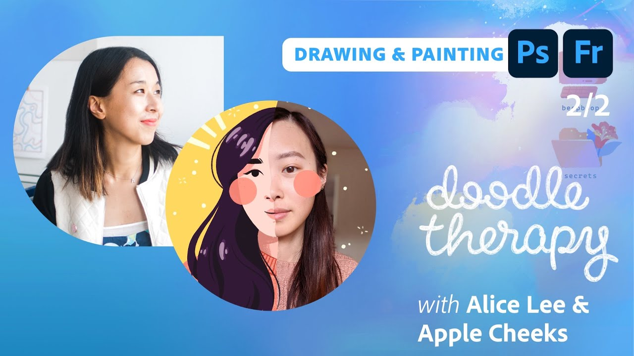Doodle Therapy: Breakfast Characters with Tiffany Tan (Apple Cheeks) & Alice Lee  - 2 of 2