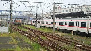2018/8/4 新京成電鉄N800形甲種輸送9774レDE10‐1726号機(愛)牽引