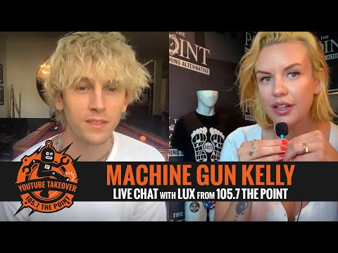 "MACHINE GUN KELLY talks ""concert for aliens"" video, the best ENTOURAGES in Hollywood & more with LUX"