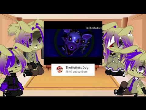 Download glitchtrap's Family react glitchtrap / The 6th anniversary of FNAF ||gacha Club||( My AU)