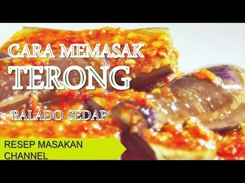 "Cara Membuat ""TERONG BALADO"" ...Sedap dan Pedas...!!!! from YouTube · Duration:  3 minutes 35 seconds"