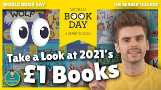 Take a Look at the World Book Day 2021 £1 Books | World Book Day 2021