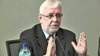 """Konferencja """"Samorządność dla solidarności"""" - Prof. Jerzy Stępień"""