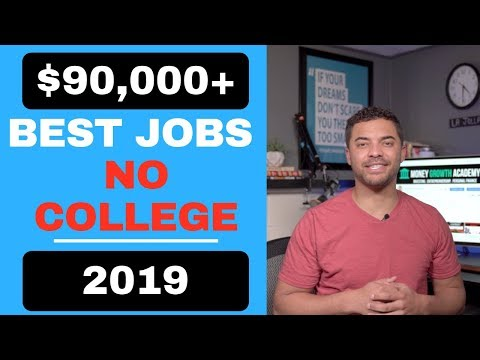 TOP 7 HIGH PAYING JOBS WITHOUT A COLLEGE DEGREE (2019)