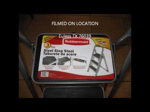 Rubbermaid 3 Steps Steel Step Stool Doovi