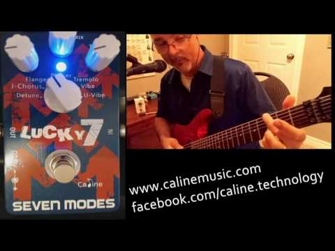 Caline Lucky 7 CP-38 Modulation Pedal Review