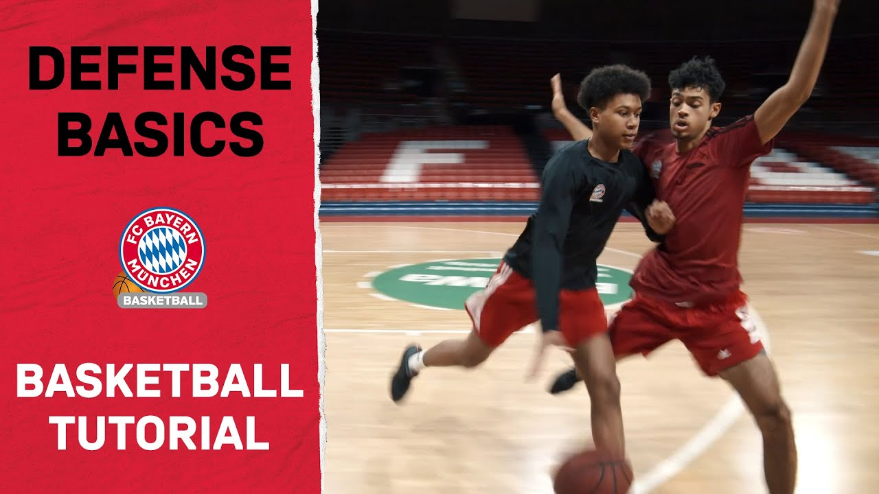 FCB Basketball Tutorial - Folge 4: Defense Basics feat. Demond Greene