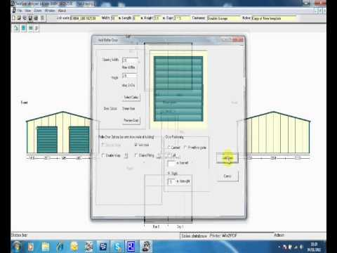 Steel Framed Building Quote And Design Tool Youtube