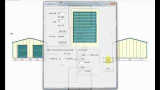 Steel Framed building quote and design tool