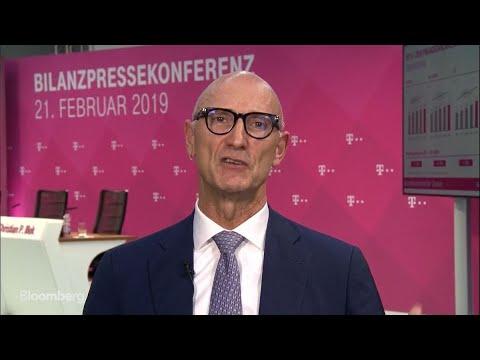 Deutsche Telekom CEO On Sprint Merger, Huawei, BT Turnaround