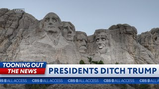 Mount Rushmore Presidents leave Trump's 4th celebration early